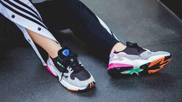 adidas 重現 90 年代推出超復古 Falcon 女鞋款
