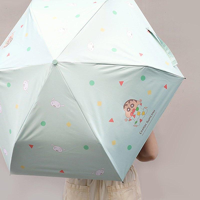 蠟筆小新抗UV輕量自動傘-正版授權 防風傘 黑膠傘 雨傘