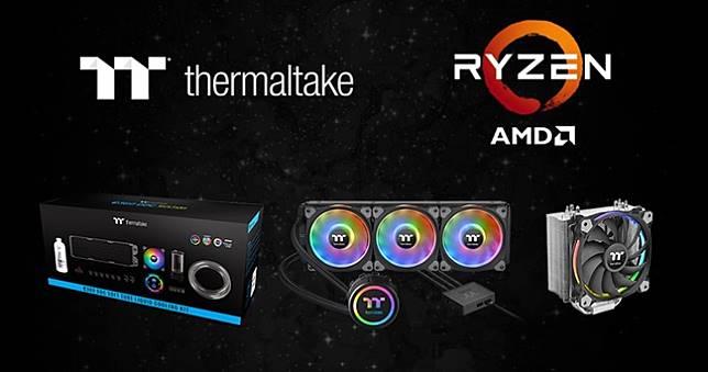 曜越全系列散熱器支援AMD最新第三代Ryzen處理器