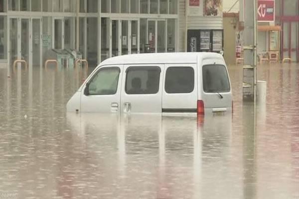 คิวชูเหนือฝนยังคงตกหนัก กรมอุตุฯ ขอให้เฝ้าระวังภัยดินถล่มอย่างจริงจัง
