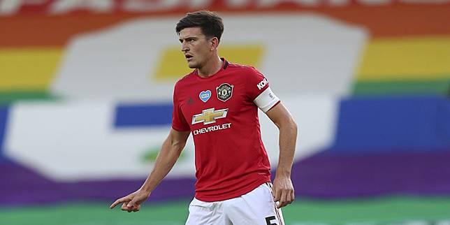 Kapten Manchester United Harry Maguire. (c) AP Photo