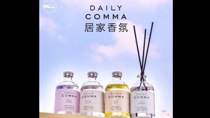 打造清新芬芳居家空間~韓國DAILY COMMA居家香氛