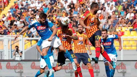 Dwigol Llorente Bantu Menangkan Napoli Atas Lecce