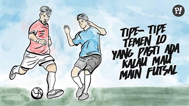 89+ Gambar Ajakan Futsal Paling Hist