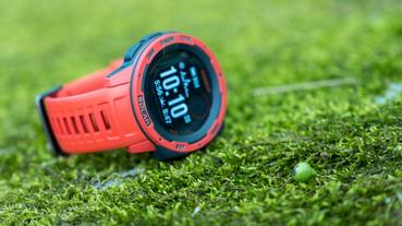 【山道具】戶外活動的好夥伴。Garmin Instinct Solar。太陽能GPS戶外智慧運動腕錶