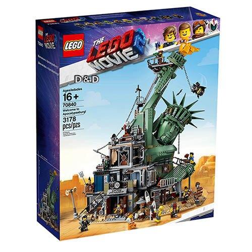 樂高LEGO 70840 The LEGO Movie 樂高電影系列 -Welcome to Apocalypsburg!