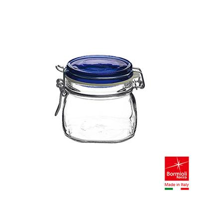 [結帳75折]義大利Bormioli Rocco Fido藍蓋密封罐560cc