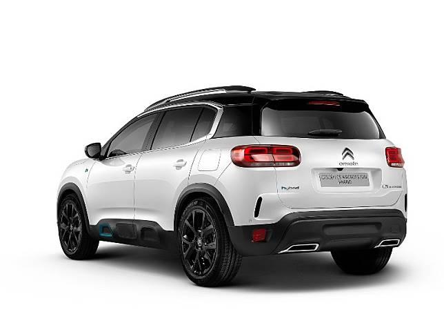 Citroën全新發表了搭載插電式油電混合動力系統的C5 Aircross Hybrid。(互聯網)