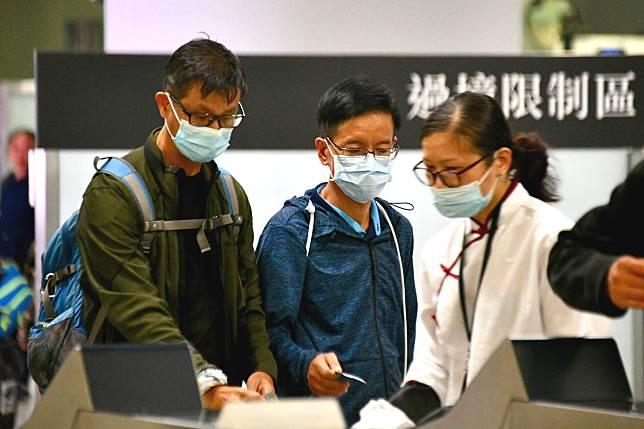 香港加強檢疫。資料圖片
