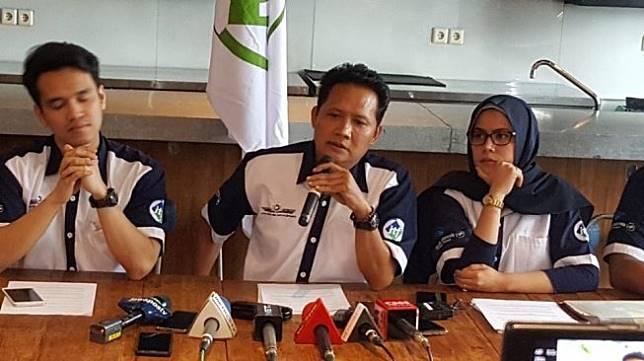 Ikatan Awak Kabin Garuda Indonesia (IKAGI). (Suara.com/Fadil)