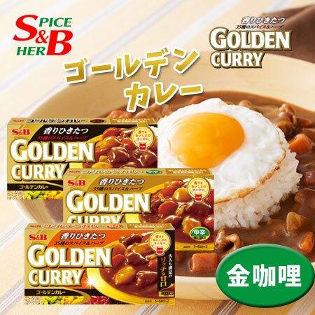 日本 SB 金咖哩 198g 金牌咖哩 金咖哩 咖哩包 咖哩 咖哩飯 咖哩塊 調理包 料理包【N103197】