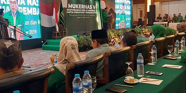 Hadiri Mukernas V PPP, Sekjen Versi Muktamar Jakarta: Kami Sudah Melebur