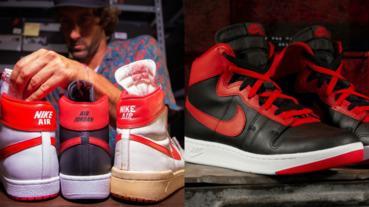 球鞋老屁股都懂!AJ1 經典前身「Nike Air Ship」正式回歸,傳奇禁穿故事的「黑紅」配色你受得了嗎?