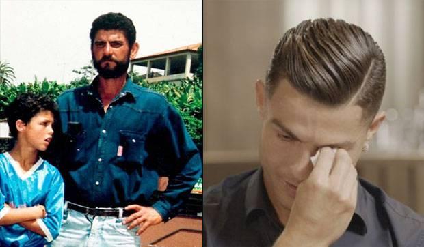 Cristiano Ronaldo Menangis ketika Diperlihatkan Video Ayahnya