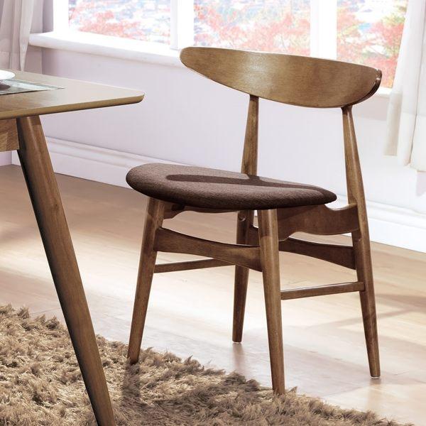 OB004-吉伯特淺胡桃咖啡布餐椅(19HY2/B465-04)【DD House】