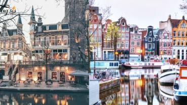 荷蘭除了有著名的風車,還有美如童話仙境的「羊角村」~好像身處在童話世界啊!