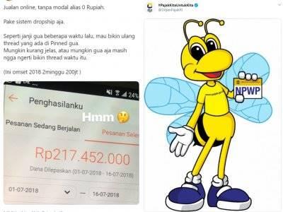 Netizen Ini Diciduk Admin Pajak Setelah Pamer Saldo ATM Rp200 Juta