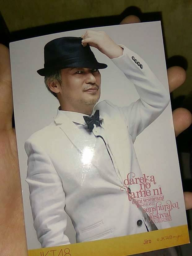 Jiro Inao, manajer JKT48 by Twitter