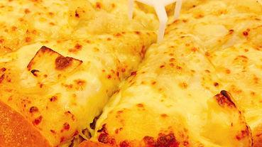 必勝客PIZZA HUT 新口味試吃 NEW! 不吃榴槤的人挑戰黃金榴槤Pizza+舊金山手工餅皮開箱