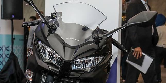 Modenas Ninja 250, rebadge Kawasaki Ninja 250 (Paultan.org)