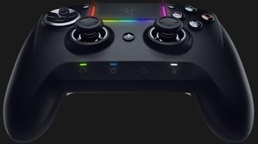 Razer推出新款PS4控制器,不但可換按鍵還能透過App進行設定