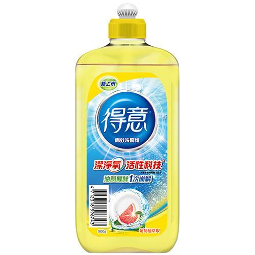★ 椰子油界面活性劑,好沖洗,不殘留★ 蘊含葡萄柚萃取,洗碗充滿清新香