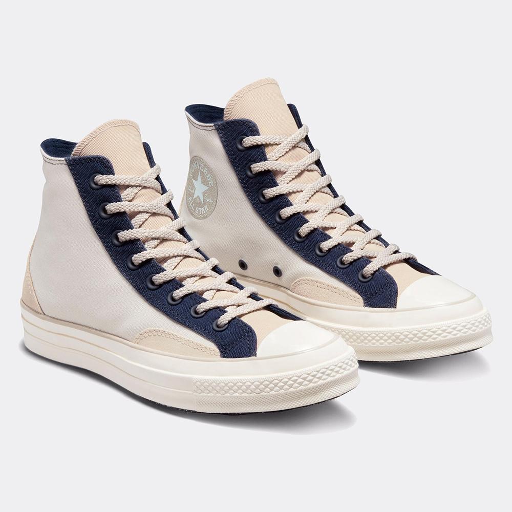 CONVERSE CHUCK 70 COURT HI 男女 高筒 休閒鞋 米藍
