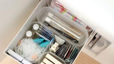 浴室雜物怎麼收?無印良品收納系列,輕鬆搞定洗手台下的瓶瓶罐罐