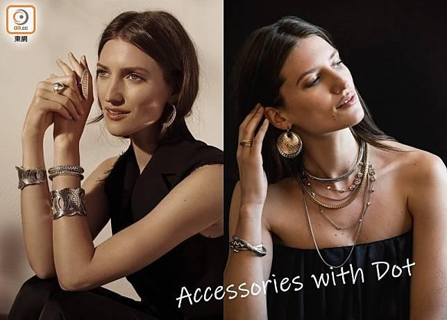 峇里珠寶品牌John Hardy今季為經典Dot系列打造更奪目出眾的新作。(互聯網)