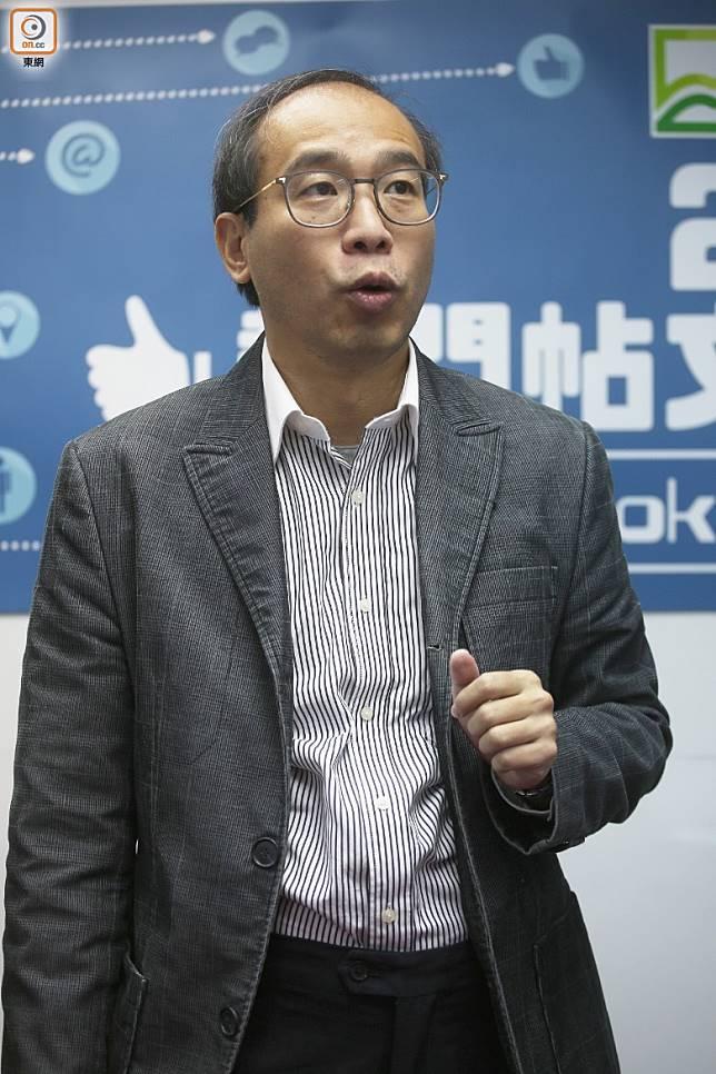 陳偉強預計港人移民海外數字將會再創新高。