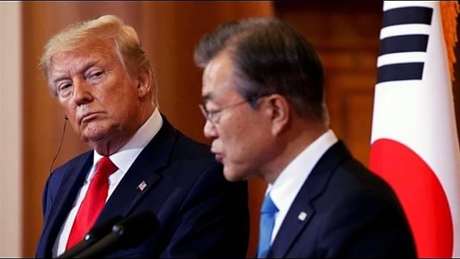 ผู้นำสหรัฐฯกับเกาหลีใต้หารือเพื่อหาทางรักษาการเจรจาเรื่องนิวเคลียร์กับเกาหลีเหนือ
