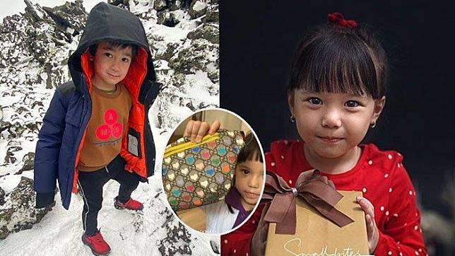 Anak Raffi Ahmad Beri Tas Gucci Berharga Fantastis
