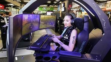 Acer 宏碁資訊月促銷,超狂電競椅展場首賣不到台幣30萬,電競筆電、電競耳機買就送周邊小物