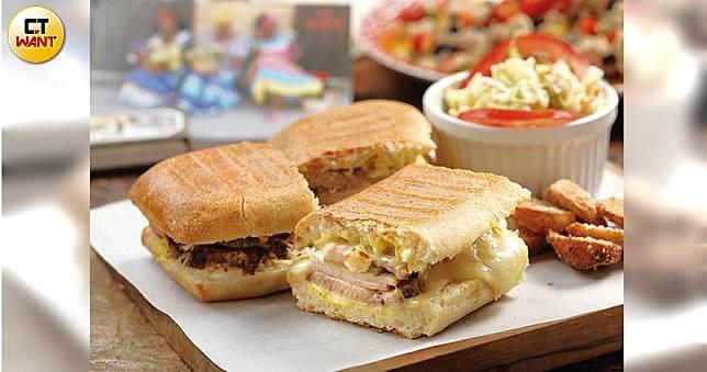 【味蕾遊列國4】古巴CUBAL 三明治外脆內軟