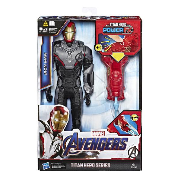 MARVAL漫威超級英雄 復仇者聯盟4 終局之戰 12吋泰坦英雄人物組 鋼鐵人 POWER EX電子武裝TOYeGO 玩具e哥