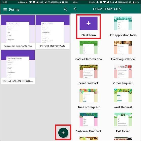 Cara Membuat Google Form Di Hp Dan Cara Melihat Hasilnya Jalantikus Com Line Today