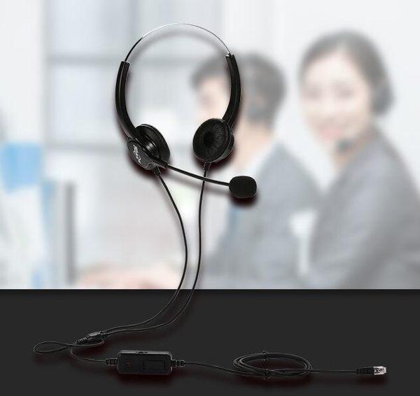 呼叫中心話務員電話耳機客服頭戴式專用電腦手機通話耳麥
