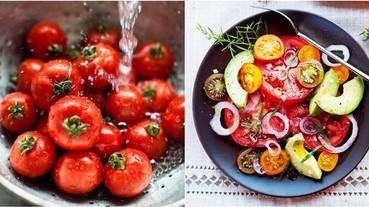 「 夜晚番茄減肥法 」 排毒美容一週瘦2kg