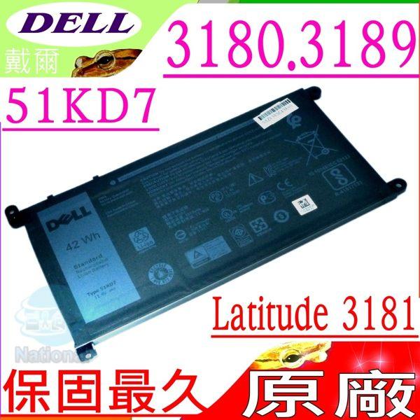 DELL 電池(原廠)-戴爾 51KD7,Latitude,Chromebook, 11 3180電池, 3181電池, 3189電池,FY8XM,Y07HK