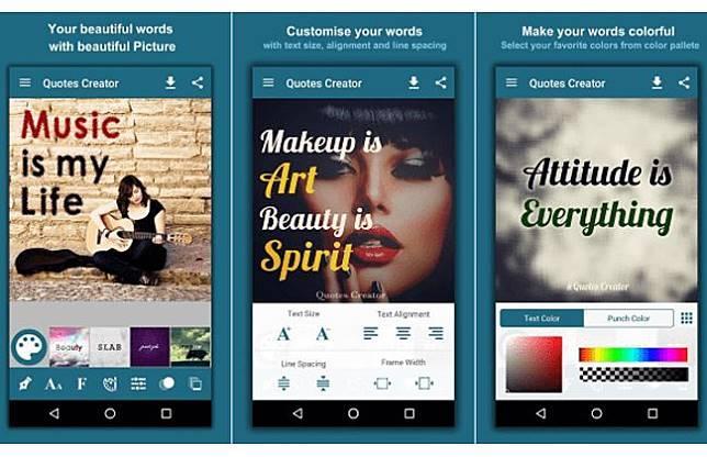 7 Aplikasi Pembuat Quotes Terbaik Di Android Buat Ig Story Makin Kece Jalantikus Com Line Today