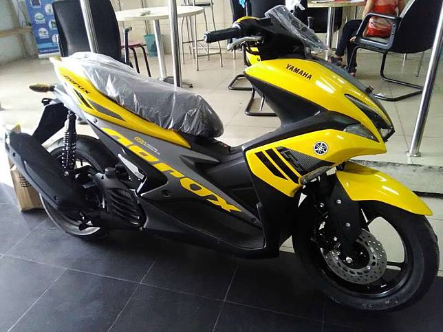Yamaha Aerox 155 Tipe Paling Murah, Apa Saja Kelengkapannya?