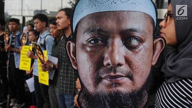 HEADLINE: Teror Air Keras Novel Baswedan Disebut Rekayasa, Opini Lemahkan KPK?