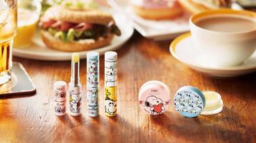日本DHC純欖護唇膏超可愛史努比限定版 可當唇膜使用的濃厚款也要買起來!