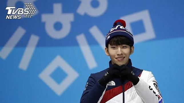 南韓奧運金牌選手林孝俊,脫隊友褲子涉性騷擾。圖/達志影像路透社