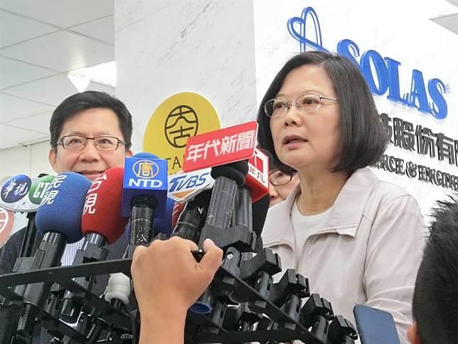 蔡總統:國安會成立因應小組監看香港情勢發展