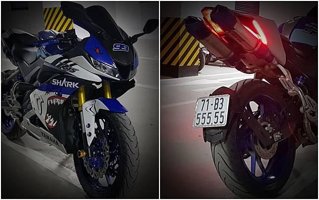Modifikasi Yamaha R15 bergaya  Yamaha R1