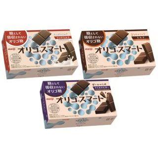 明治 オリゴスマートチョコレート ミルク/マイルドビター/リッチミルク
