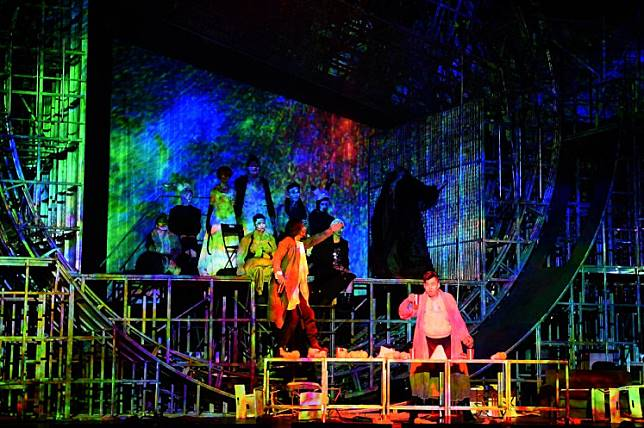 Shaken-up version of classic Chinese play 'Teahouse' causes stir