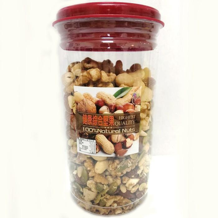 產品規格: 產品成份:新鮮杏仁果、夏威夷果、松子、核桃、腰果、南瓜子、精製棕櫚油、砂糖、海藻糖、食鹽、維他命E(抗氧化劑) 重量:350克 包裝:罐裝 產地:台灣 保存期限:6個月 保存方式 : 請放