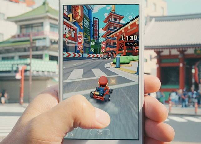 《Mario Kart Tour》將於9月25日登陸iOS及Android平台。(互聯網)